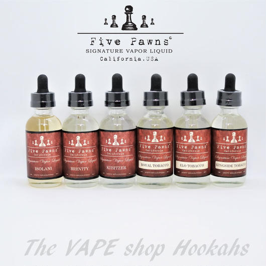 FIVE PAWNS RED SERIES 60ml 全6種類