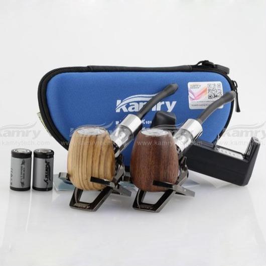 Kamry k1000 木製 電子タバコ メタルスタンド付