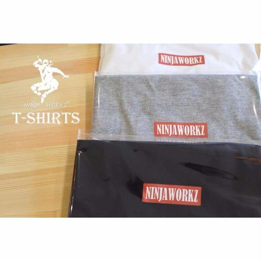 NINJA WORKZ BOX ロゴ T-SHIRTS