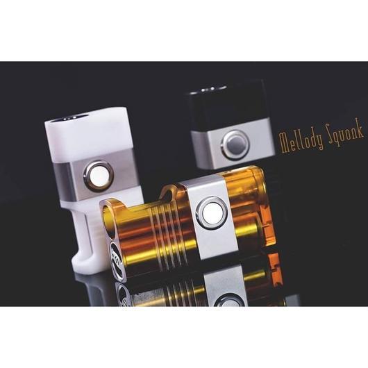 【予約販売】Mellody Squonk Box Mod セミメカニカルボトムフィーダー 3カラー