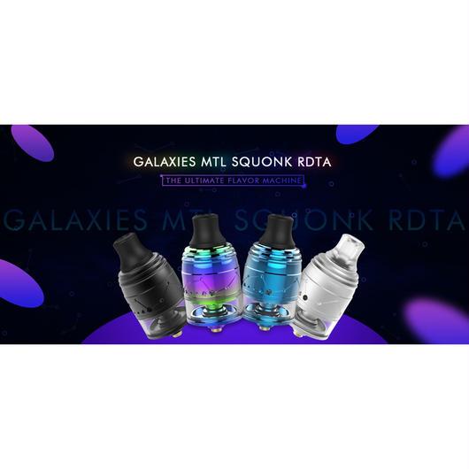 Vapefly Galaxies MTL Squonk RDTA 22mm ドリッパタンクアトマイザー