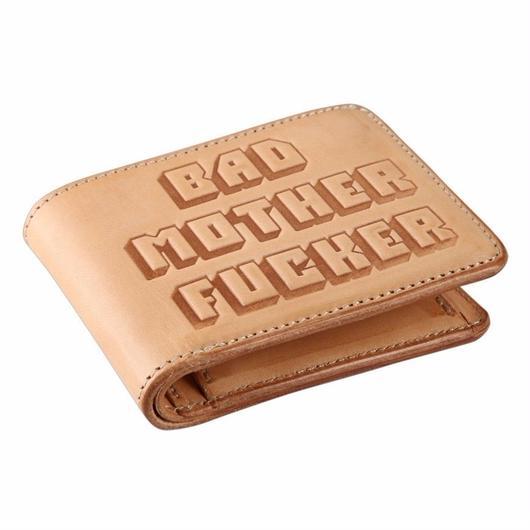BAD MOTHER FUCKER財布(ナチュラル)