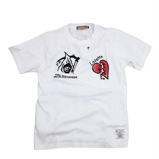 マックスタトゥーTシャツ(白)
