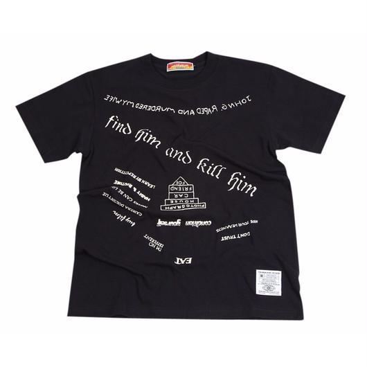 メメントモリタトゥーTシャツ(黒)