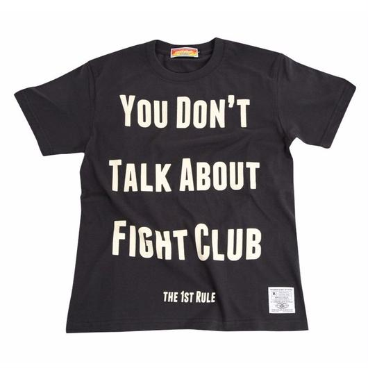 ファーストルールTシャツ(黒)
