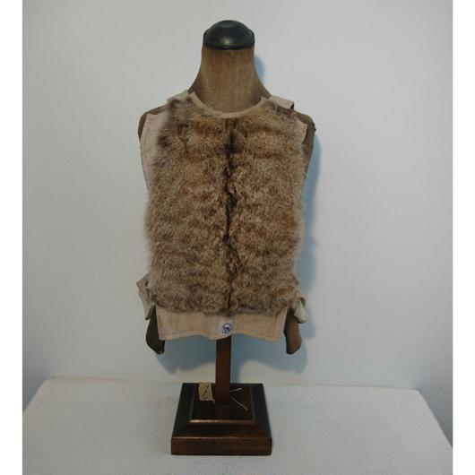 French   Real fur   breastplate