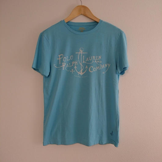 「POLO  RALPH LAUREN」  Anchor pattern   Tshirt