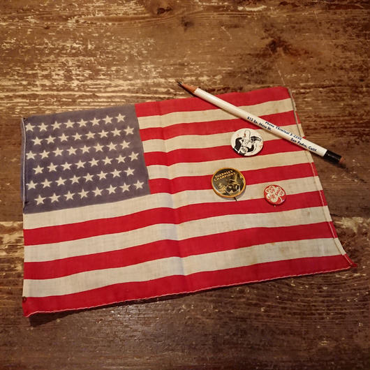 48 Star  American  flag (mini  size)