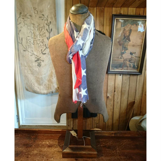 1890s    Vintage     America flag STOLE