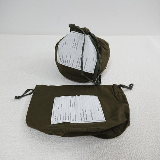 【US ARMY】  Cotton  drawstring bag