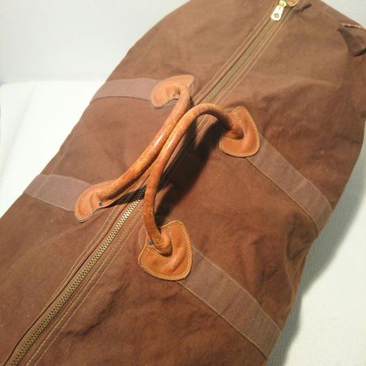 1940s  LL BEAN  CANVAS  Boston bag
