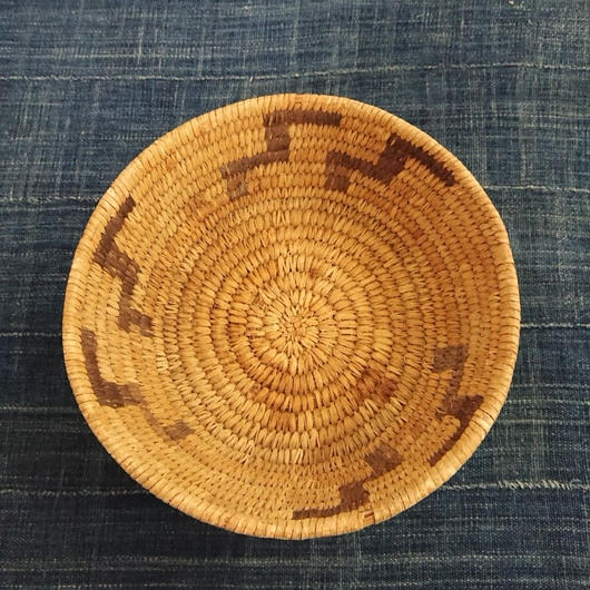 Basket Made by handmade by Native American ②