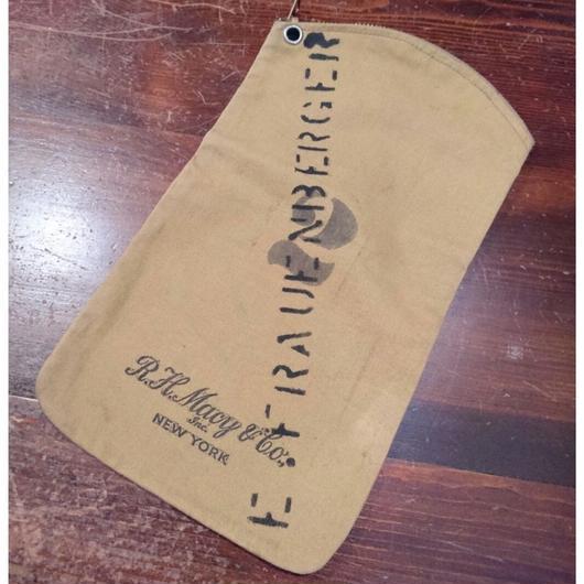 30s~40s  Canvas Money  Bag