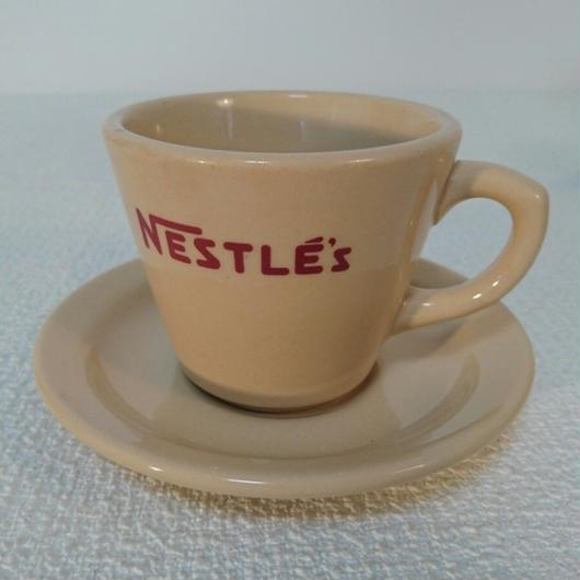 NESTLE's   coffee cup  &  saucer