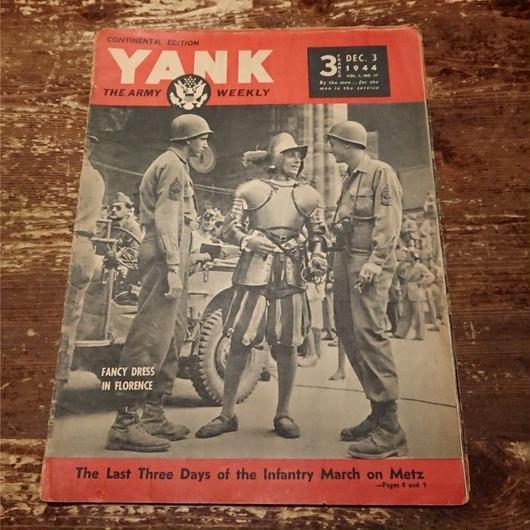 【 YANK   THE ARMY WEEKLY 】1944.   DEC.  3