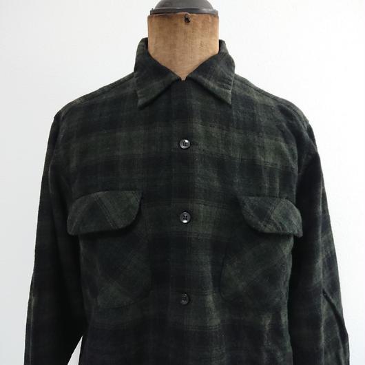 1950s  PENDLETON  Wool  shirt