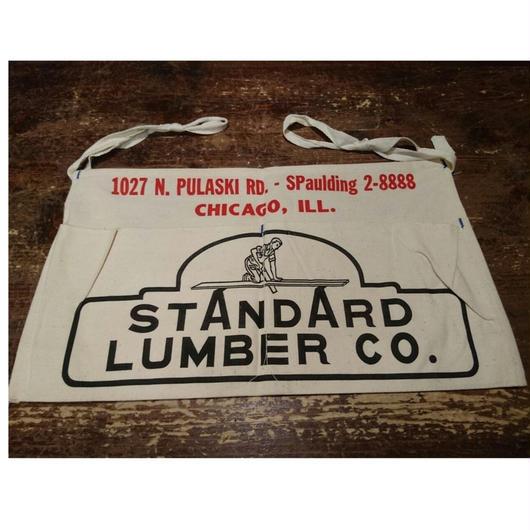 「STANDARD  LUMBER  CO.」canvas apron  (dead stock)