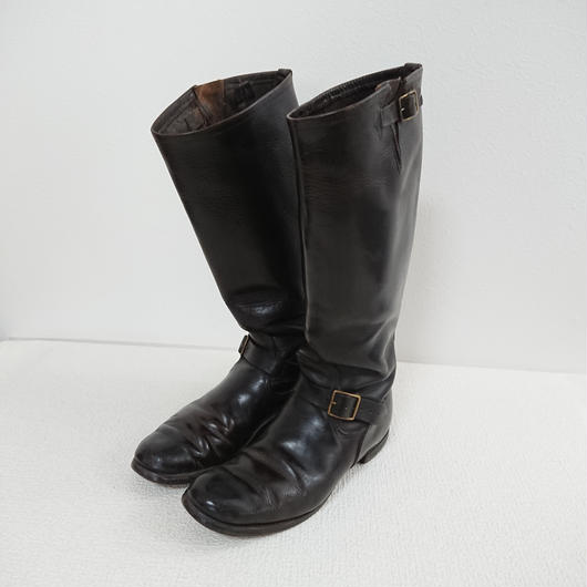 ~1940s  Horsehyde Long  Boots