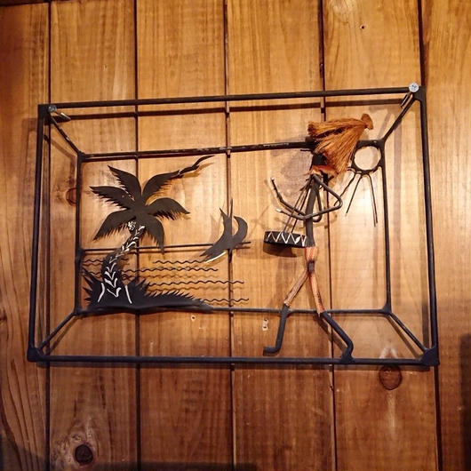 Vintage Wall hanging wire art