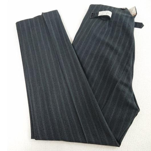 1940s~1950s   Gray striped wool trousers