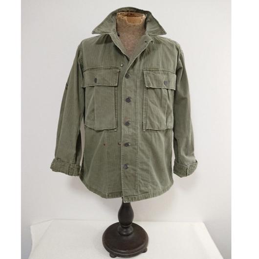 【 1940s U.S.ARMY M-43 】HBT  Fatigue shirt