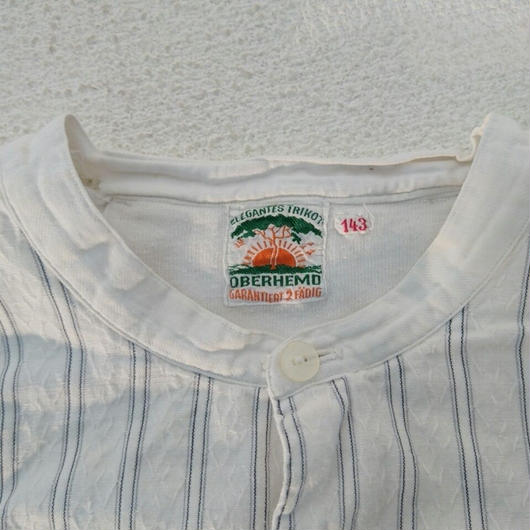Euro Henley neck   Long sleeve Tshirt