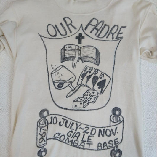 「1960s  US ARMY」Hand paint     Under shirt
