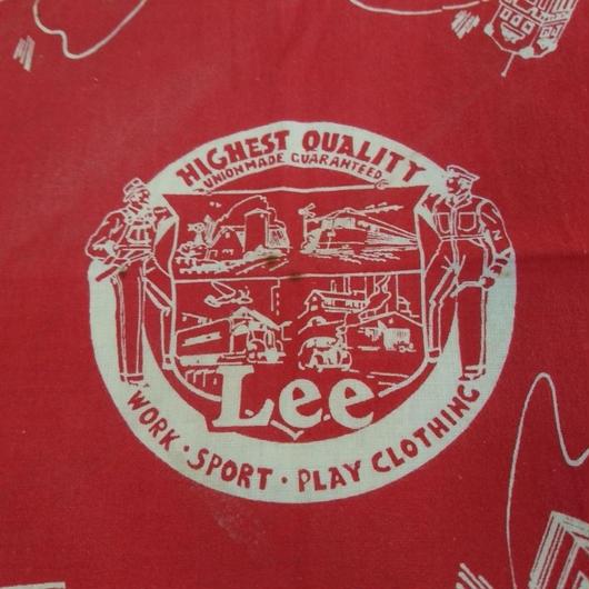 1940s  「Lee」 Vintage bandana