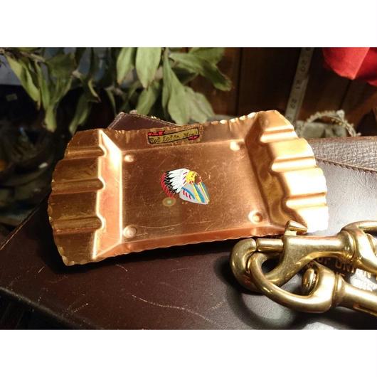 1930s Copper  ash  tray