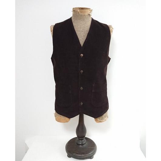 1960s~   Corduroy Vest