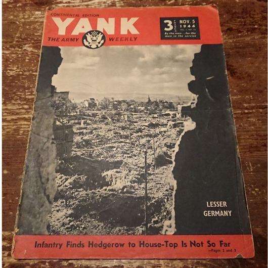 【 YANK   THE ARMY WEEKLY 】1944.  NOV.  5