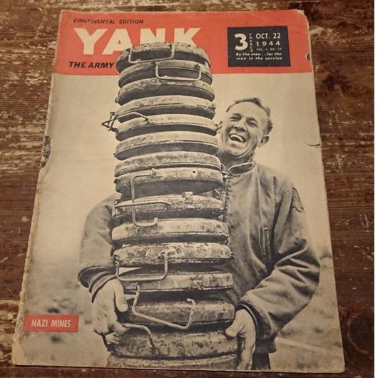 【 YANK   THE ARMY WEEKLY 】1944.  OCT.  22