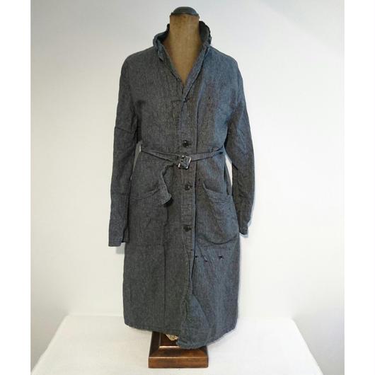 French   Black chambray   Atelier coat