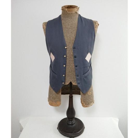 【 1950s  TOWNCRAFT 】Gabardine vest