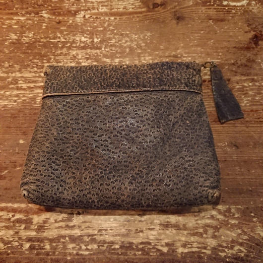 1940s  Embossed  pouch bag