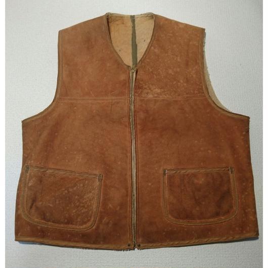 1940s  US ARMY  Mouton  vest