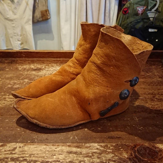 Native American  leather shoes