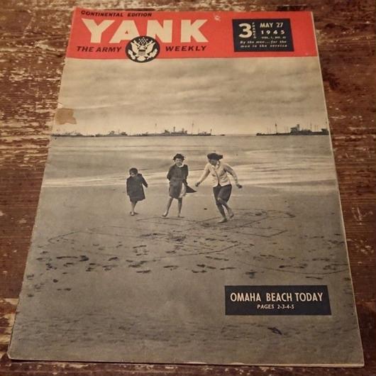 【 YANK   THE ARMY WEEKLY 】1945.  MAY.   27