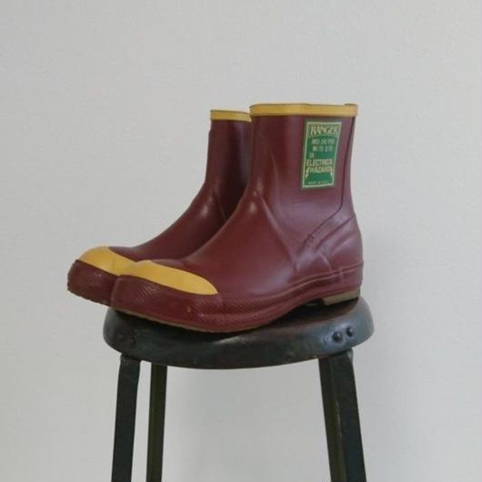 「Made in U.S.A」   Rubber boots