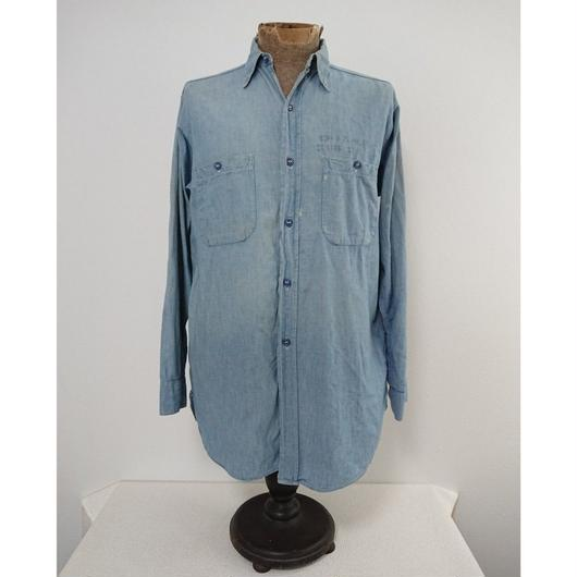 【1940s  U.S.NAVY】Chambray shirt ①