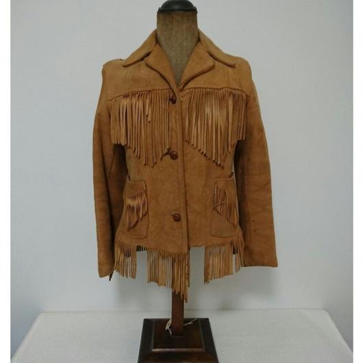 1970s   Lady's  Suede  jacket