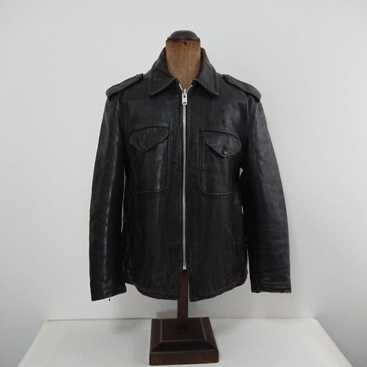 1960s  Policeman leather  jacket