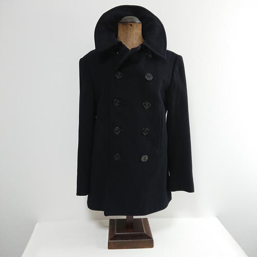 1940s  US.NAVY 10-Button P-Coat