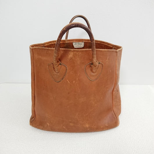 1970s  LL BEAN  Leather  Tote bag