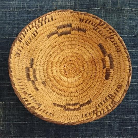 Basket Made by handmade by Native American ③