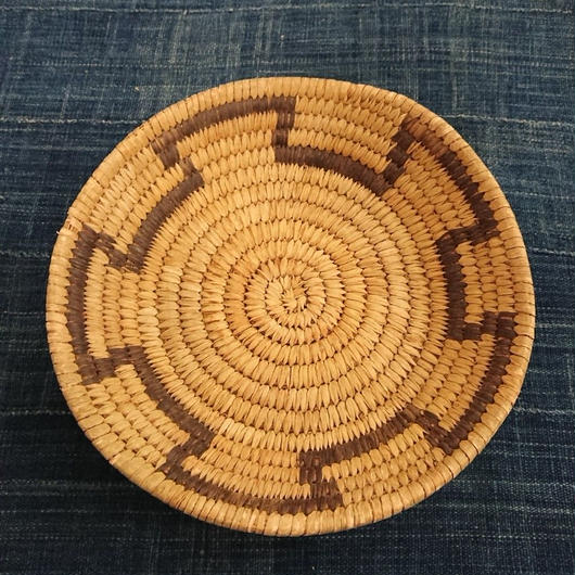Basket Made by handmade by Native American ①