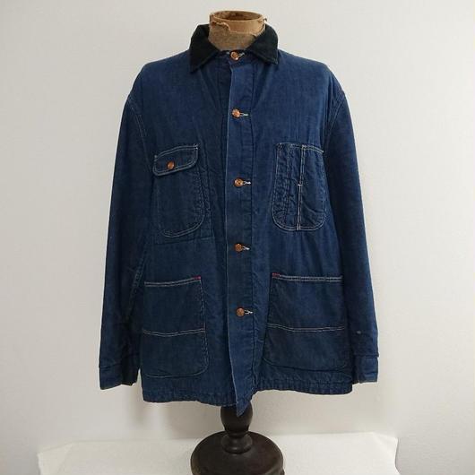 ~1960s   Denim  work  jacket   (Lining blanket)