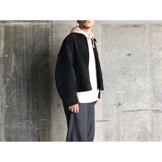 【wonderland】suede  drizzler jacket