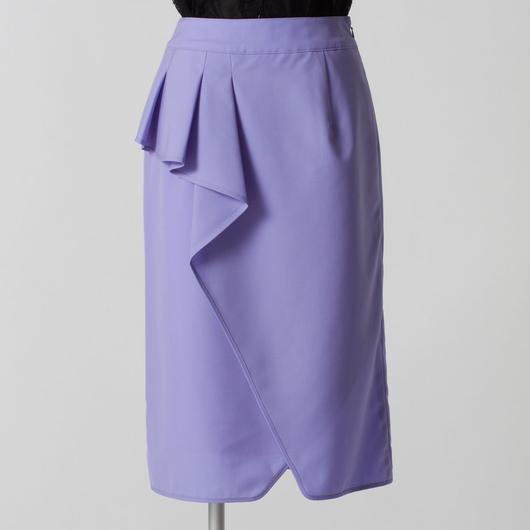 ウールタイプライタースカート(ブルー)