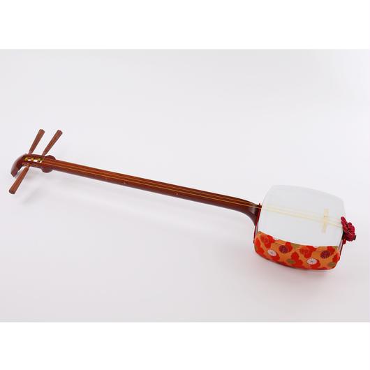 [29005]【長唄】中古リプル張り付属品あり(胴掛け、小物の色、柄、仕様等おまかせ)